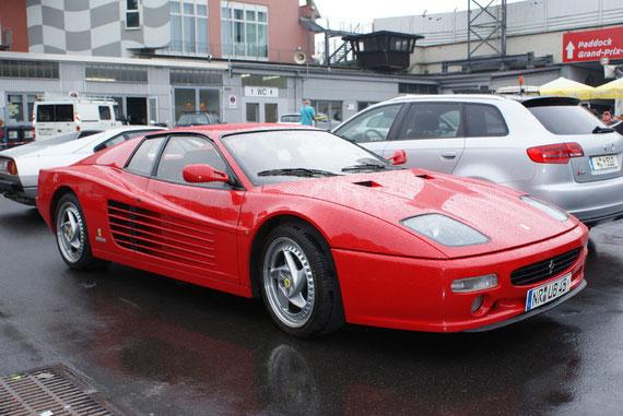 Ferrari F512 M - by Alidarnic (Modena Trackdays 2009)