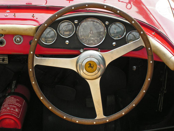 Ferrari 250 Monza Pininfarina Spyder - by Alidarnic