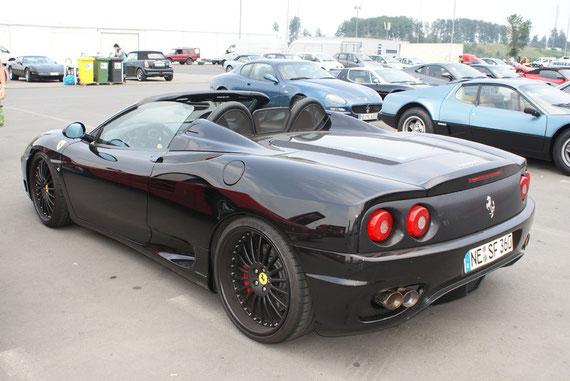 Ferrari 360 Modena Spyder - by AliDarNic (Modena Trackdays 2009)