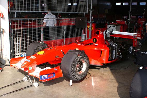Ferrari F2001 '01 - by Alidarnic (Modena Trackdays 2009)