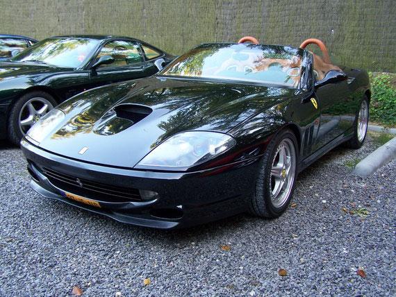 Ferrari 550 Barchetta - by Alidarnic