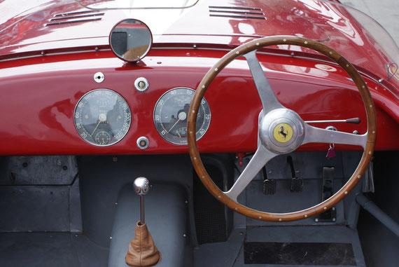 Ferrari 340 America Vignale Spyder - by Alidarnic (Modena Trackdays 2009)