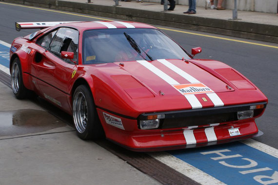 Ferrari 308 GTB Racing - by Alidarnic (Modena Trackdays 2009)