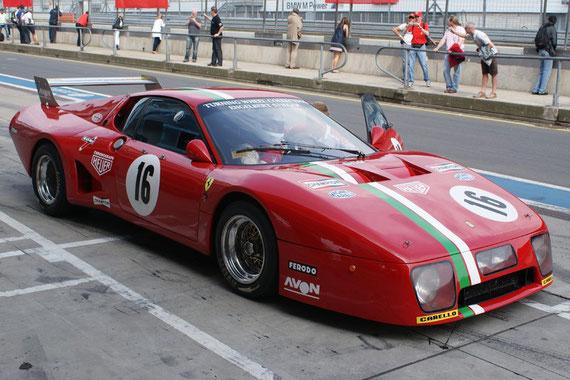 Ferrari 512 BB LM - by Alidarnic (Modena Trackdays 2009)