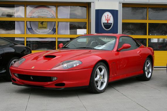 Ferrari 550 Maranello -by Alidarnic