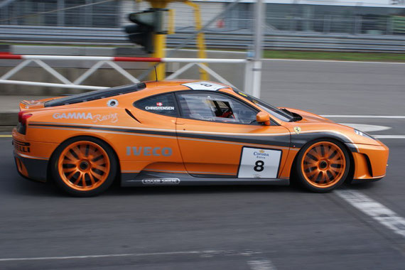 Ferrari F430 Challenge - by Alidarnic (Modena Trackdays 2009)