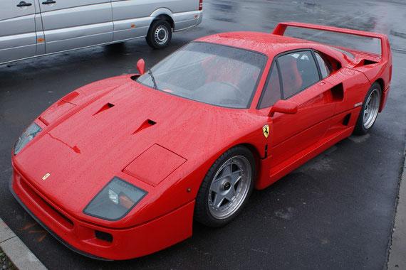 Ferrari F40 - by Alidarnic (Modena Trackdays 2009)