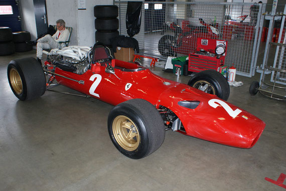Ferrari 312 '67 - by Alidarnic (Modena Trackdays 2009)