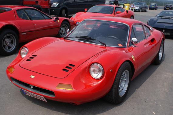 Ferrari 246 Dino GT -by AliDarNic (Modena Trackdays 2009)