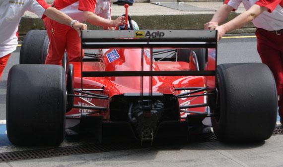Ferrari F1-87 '87 - by Alidarnic (Modena Trackdays 2009)
