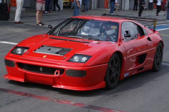 Ferrari F355 Challenge - by Alidarnic (Modena Trackdays 2009)