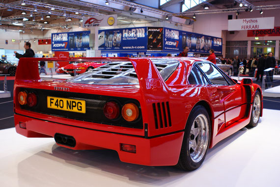 Ferrari F40 - by AliDarNic @ Motorshow Essen 2009