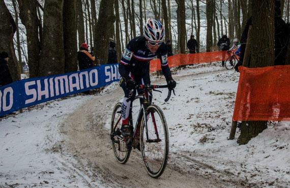 Finale coupe du monde de Cyclo-cross à Hoogerheide : 3ème.
