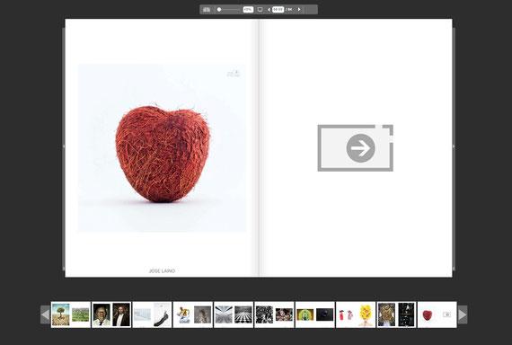 Coconut heart in One Eyeland MAGAZINE