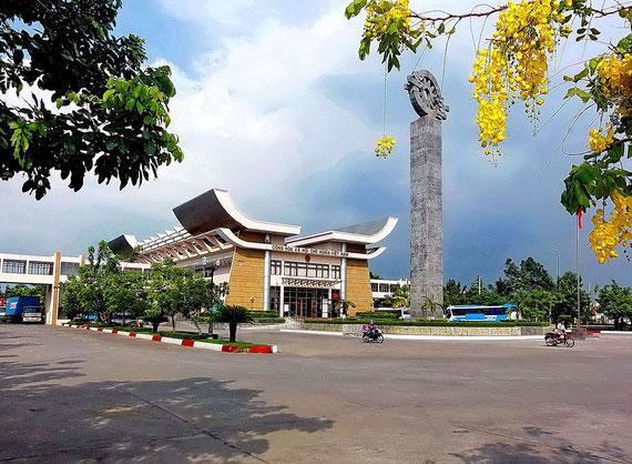 Ausreisehalle aus Vietnam derzeit im Umbau