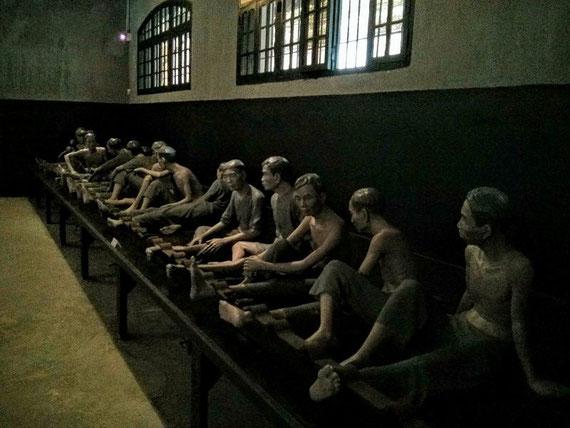 So wurden die Gefangenen angeschraubt