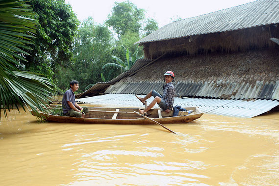 Dorf bei Ha Tinh