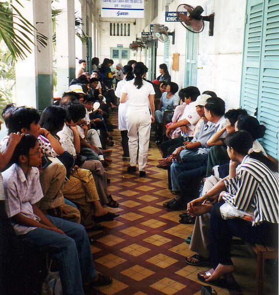 Staatliches Hospital in Vietnam