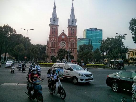 Saigon Kathedrale Notre Dame