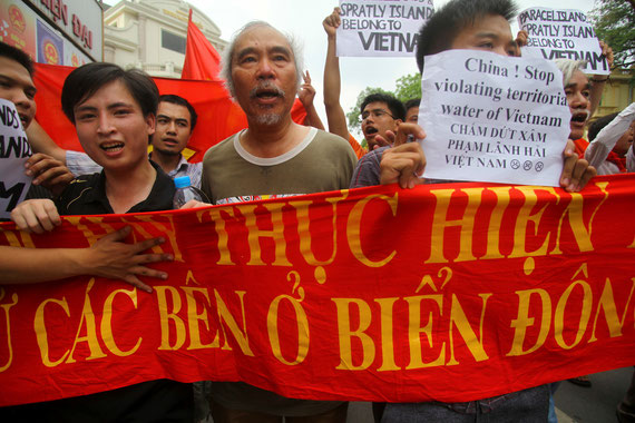 Proteste in Vietnam 2015