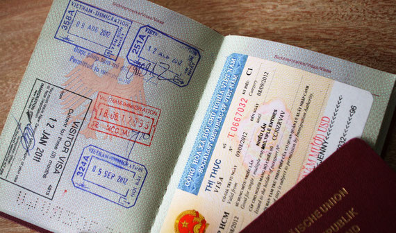 Visa für Vietnam