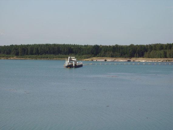 "Silbersee II Saugbaggerschiff ""Sythen"""