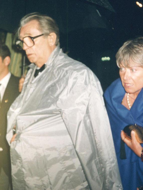 Robert MITCHUM - Festival de Cannes 1990 © Anik COUBLE