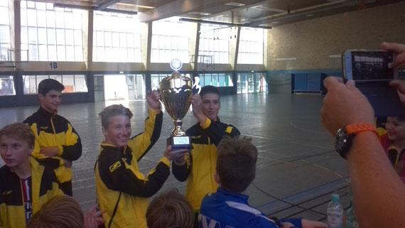Siegerteam Kemnat mit Robin und Chris