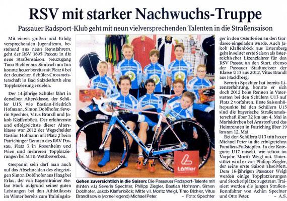 Quelle: Passauer Neue Presse März 2013