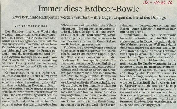 Quelle: Süddeutsche Zeitung vom 11.02.2012 Seite  4-Meinung
