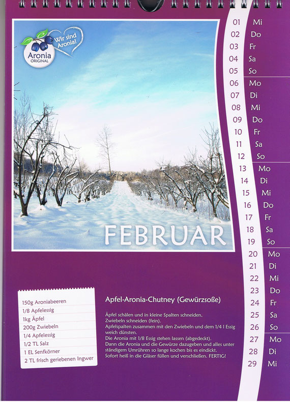 zum Aronia-März