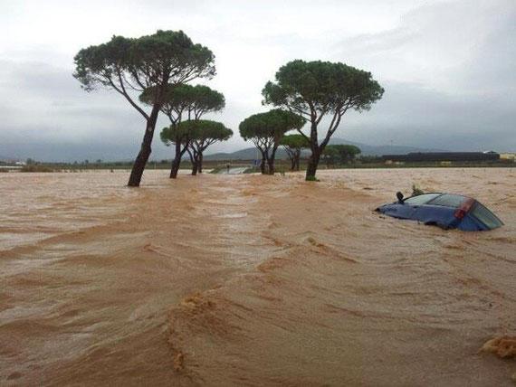 alluvione a Capalbio