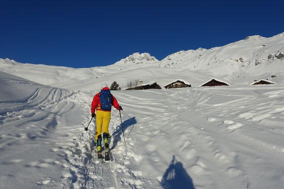 Skitour, Piz Grevasalvas, Engadin, Plaun da Lej