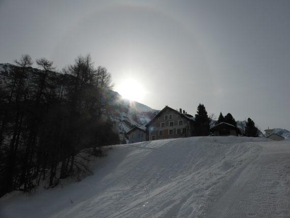 Skitour Piz Fora, Fextal