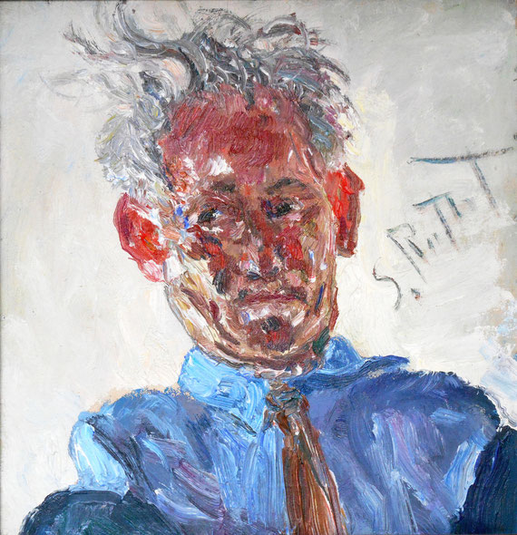 Self Portrait, Samuel Rothbort - 1961