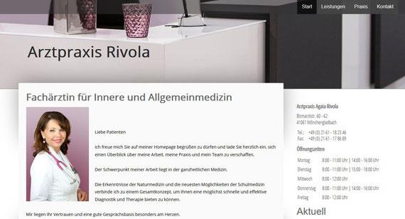 Agata Rivola | Arztpraxis Rivola | Erstellt mit Jimdo