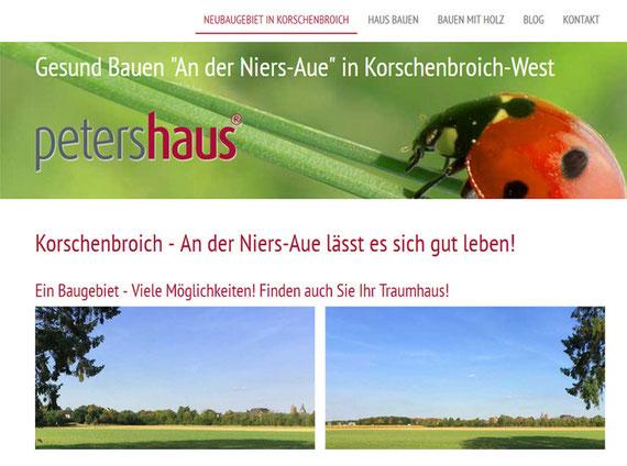 Korschenbroich Niersaue | Erstellt mit Jimdo