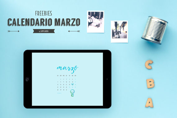 Freebies de calendario: MARZO by Sami Garra