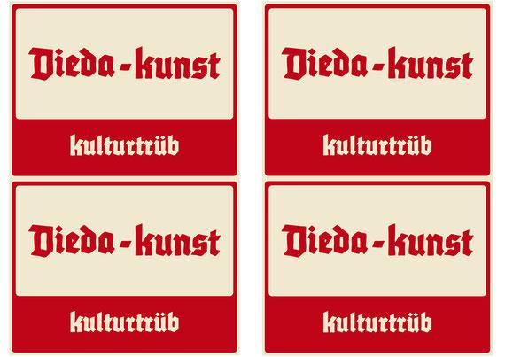 Dieda-Kunst-Bierflaschenetiketten (September 2011)