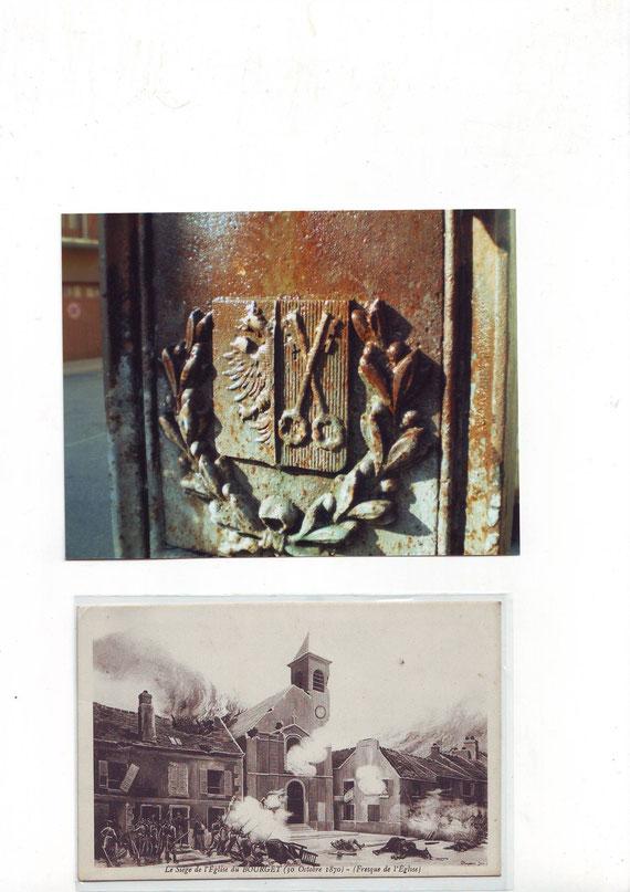 Emblème de Moûtiers avant 1860 et guerre de 1870