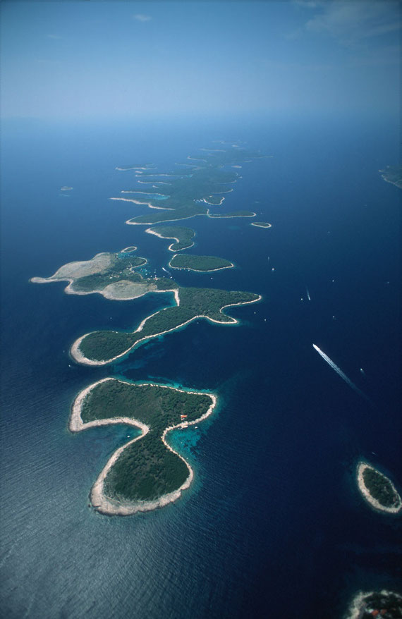 Croatian islands and islets