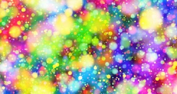 """Sind Heilfrequenzen wie farbige Lichtkugeln?  (Foto: pixabay.com - vielen Dank an """"geralt"""" :)"""