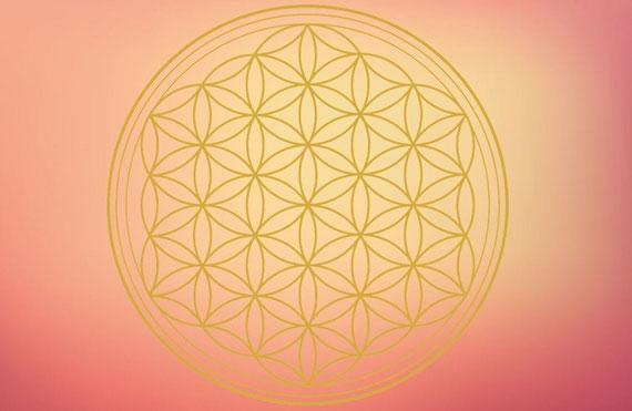 """Die """"Blume des Lebens"""" verkörpert ein universelles Prinzip..."""