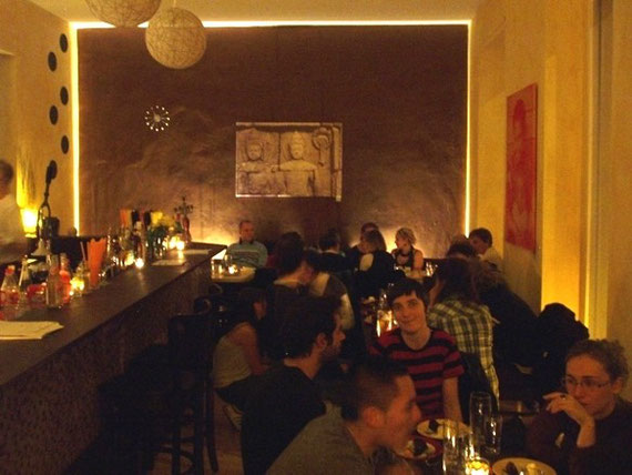 "Mein ehemaliges Bar-Restaurant ""PLUCINSKYS"" in Berlin-Prenzlauer Berg"