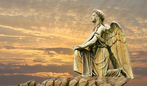 """Für mich gibt es göttliche Helfer.... (Foto: pixabay.com - vielen Dank an """"Marisa04"""")"""