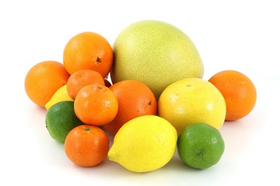 """So lecker auch Zitrusfrüchte sein können, empfindliche Menschen vertragen die empfohlenen Mengen meist nicht.... (Foto: pixabay.com - many thanks to """"PublicDomainPictures"""")"""