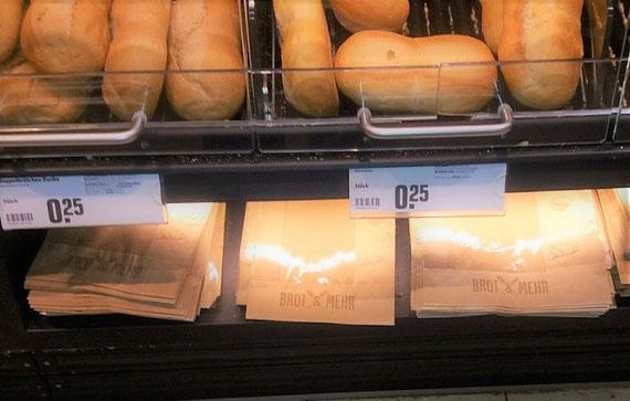 Warum enthalten die Brottüten Plastik? Da gibt es doch sicherlich andere Lösungen...