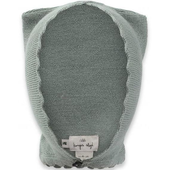 organic cat helmet storm grey konges slojd