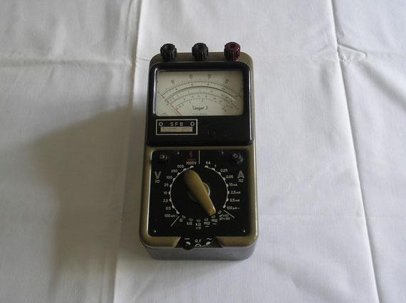 CP Görz Wien  Vielfach Multimeter Typ. Unigor 3