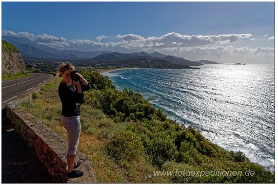 An der Bucht von Calvi, Korsika, Mai 2015